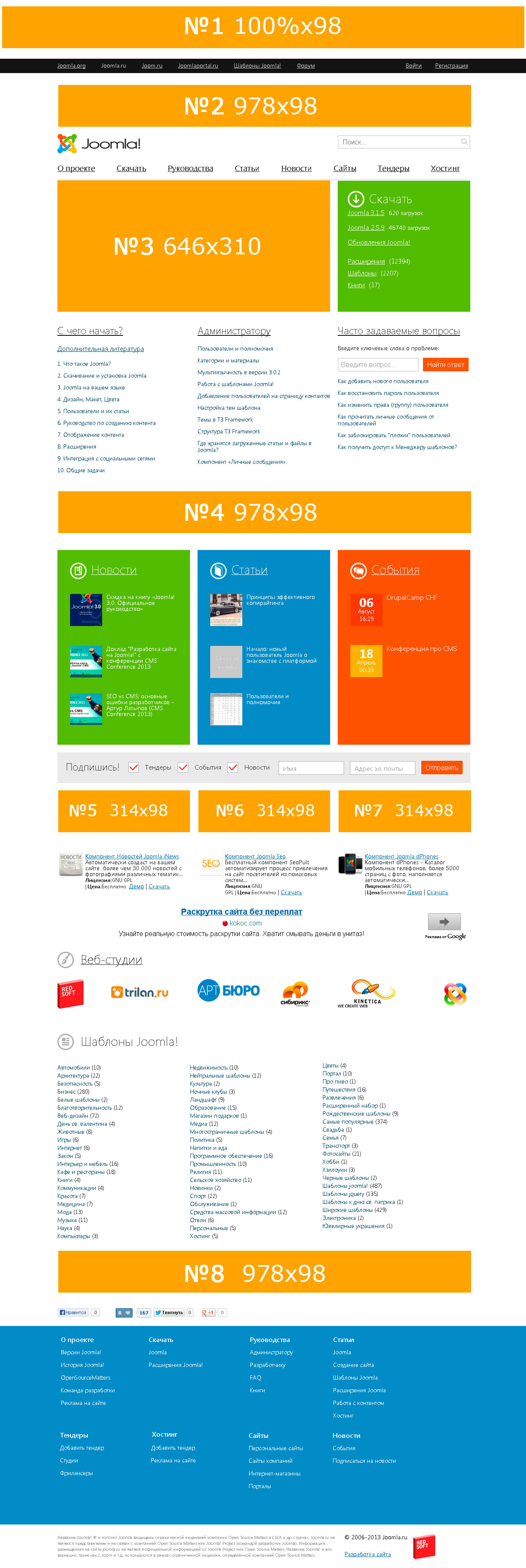 ads joomla index