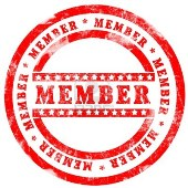 12609354-red-member-stamp-over-white-background